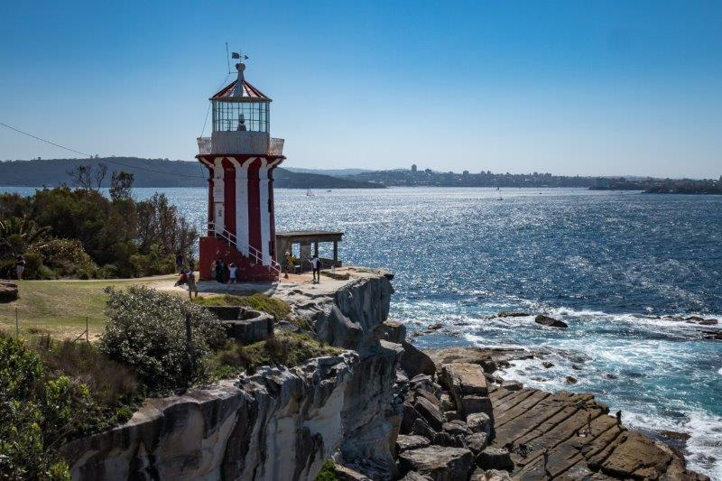 Ferry trip to Watsons Bay and walk around South Head