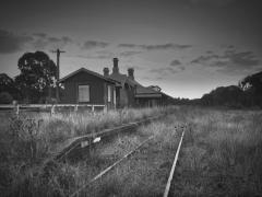 Lue Railway Station - Peter Sambell