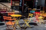 colourful chairs - Li Ma